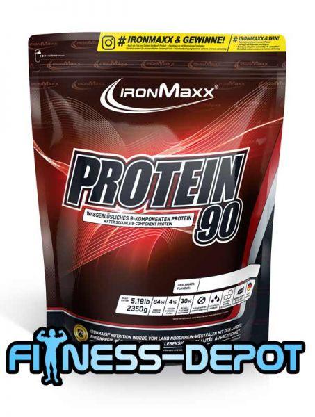 Iron Maxx Protein 90 - 2350g Beutel +Shaker+Bonus