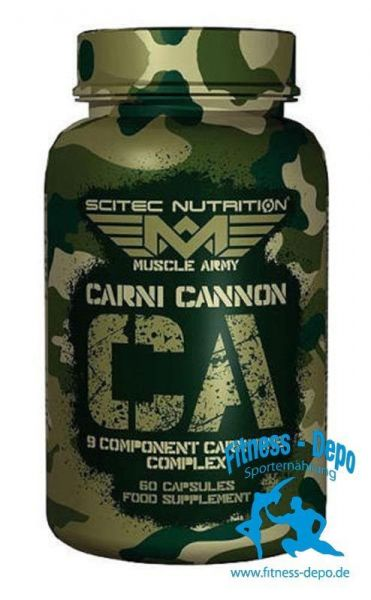 Scitec Nutrition Muscle Army Carni Cannon 60 caps.