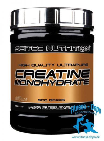 Scitec Nutrition 100% Creatine Kreatin Monohydrat Pulver 100g-1000g + Bonus