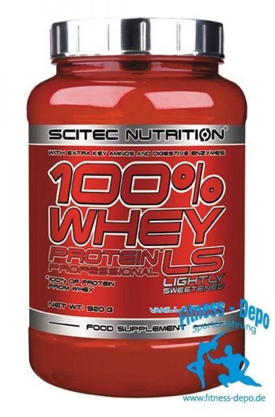 Scitec Nutrition 100% WHEY PROTEIN* PROF LS (920g-5000g) Aktion !
