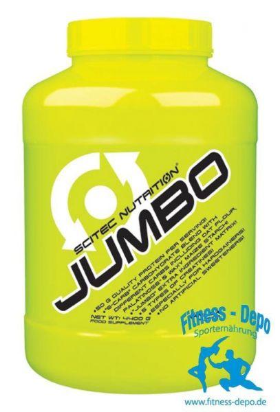 Scitec Nutrition Jumbo 2860g + Shaker + Proben
