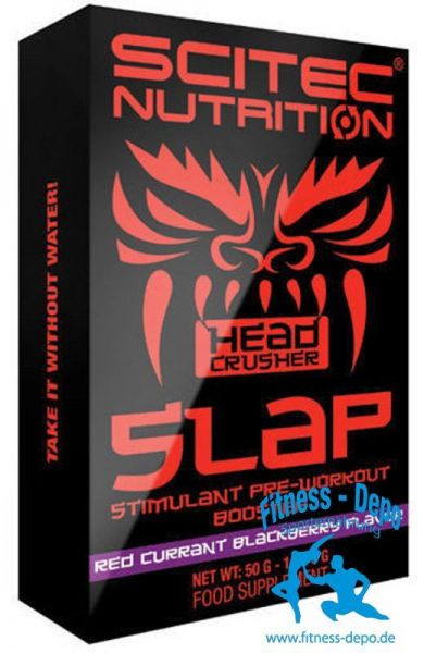 Scitec Nutriton SLAP Box 10x5g (Stimulierender Pre-Workout-Booster)