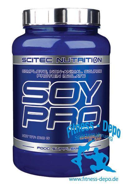 Scitec Nutrition Soy Pro 910g Eiweiss + Shaker + Probe