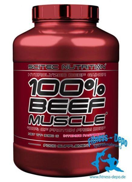 100% BEEF MUSCLE Hydrolisierter beef gainer 3180 g (1000g/16,63?)