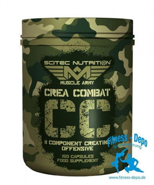 Scitec Nutrition Muscle Army Crea Combat 150 caps.