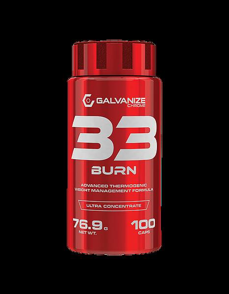 Galvanize Chrom 33 Burn 100 Kapseln