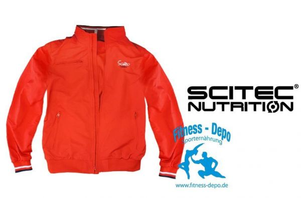 Scitec Nutrition Jacket Navy oder Red - Windjacke - Regenjacke - Windbreaker