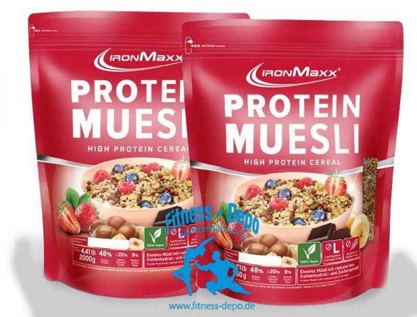 Iron´Maxx Protein Müsli (550g - 2000g) + Bonus