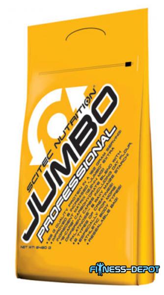Scitec Nutrition JUMBO PROF. 6480g Beutel + Shaker + Proben+