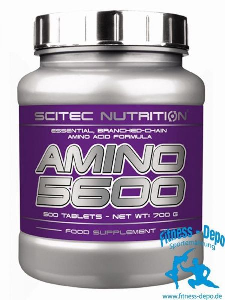Scitec Nutrition Amino 5600 - 500 Tablets - 700g +Pillenbox