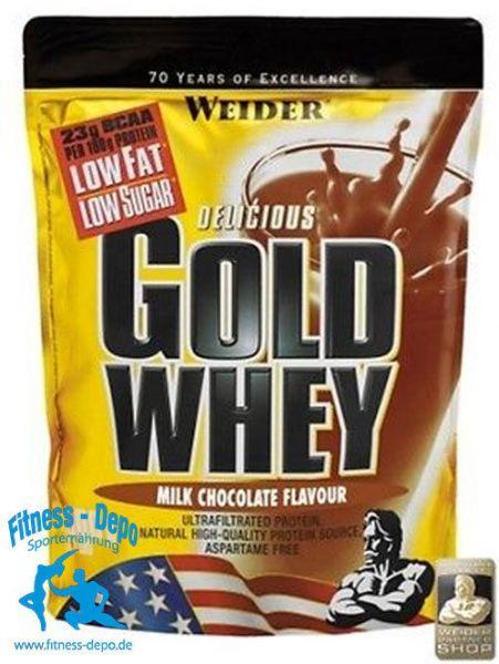 Weider Gold Whey Protein, 500g Beutel Eiweiss