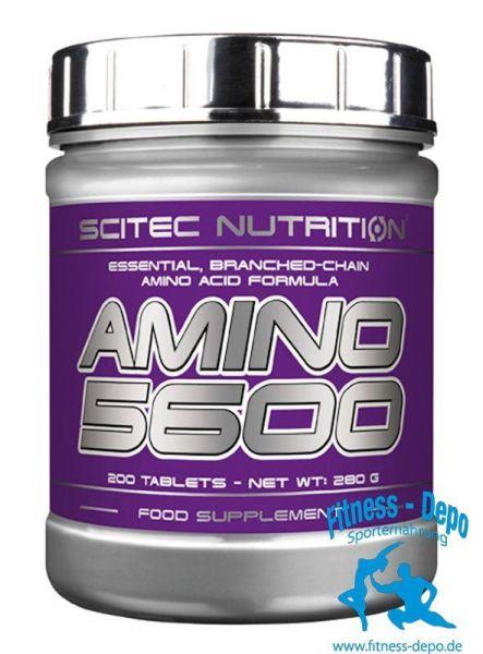 Scitec Nutrition Amino 5600 - 200 Tabeltten Tablets - 387g+Pillenbox