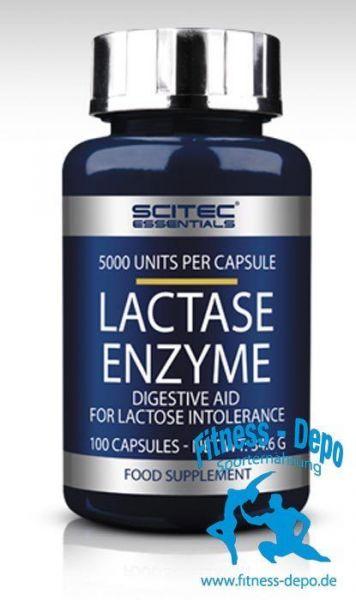 Scitec Nutrition Lactase Enzyme - 100 Caps