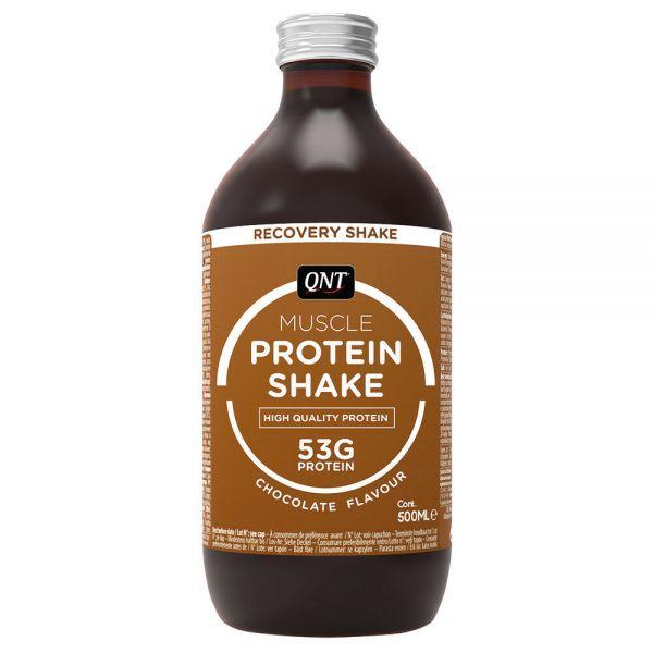 QNT® Protein Shake 500 ml Glasflasche