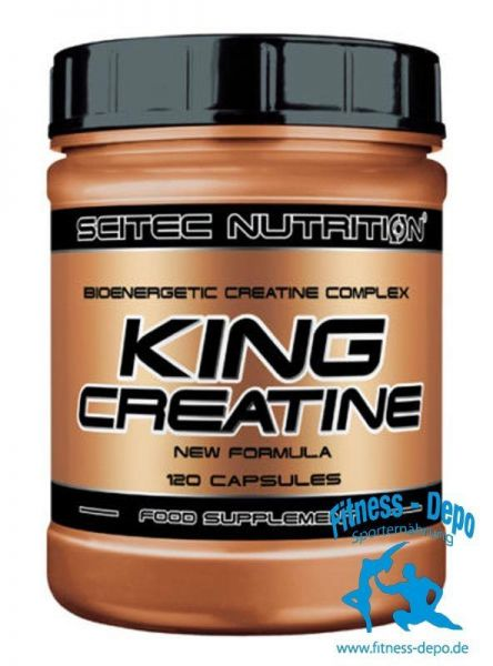 Scitec Nutrition King Creatine 120 Kapseln Kreatinkomplex