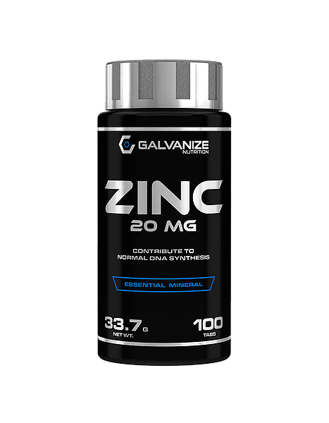 Galvanize Nutrition Zink (100 Tabletten)