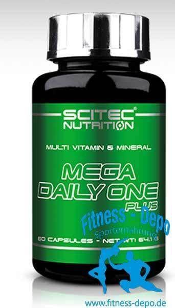 Scitec Nutrition Mega Daily One Plus 60 cap.Vitamine Mineralien Complex + Proben