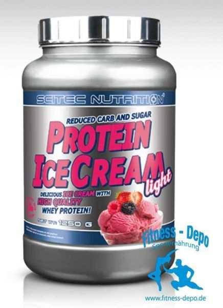 Scitec Nutrition PROTEIN ICE CREAM LIGHT Dose 1250g