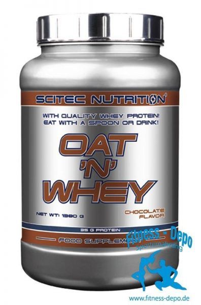 Scitec Nutrition OAT `N´ Whey 1380g