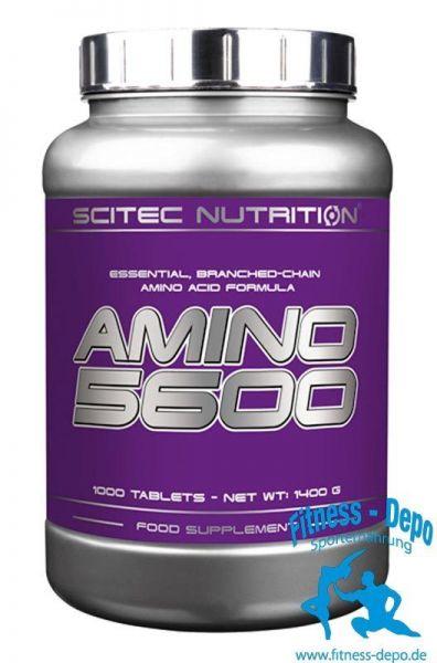 Scitec Nutrition Amino 5600 -1000 Tab. + Pillenbox