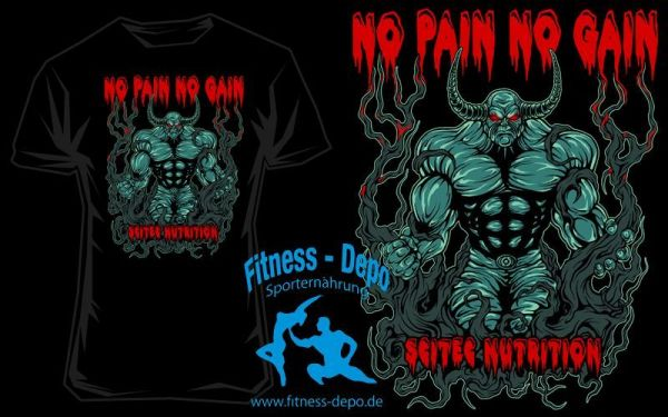 Scitec Nutrition T-Shirt No Pain No Gain