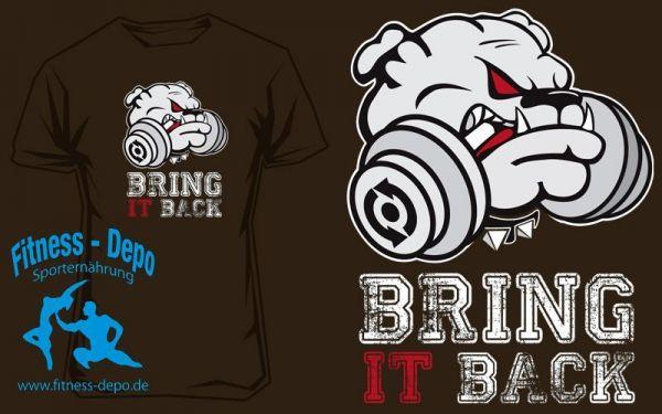 Scitec Nutrition T-Shirt Puppy Braun