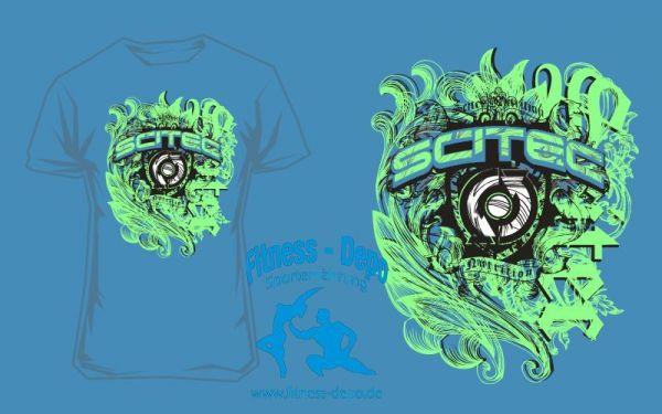 Scitec Nutrition T-Shirt Ornament Blue
