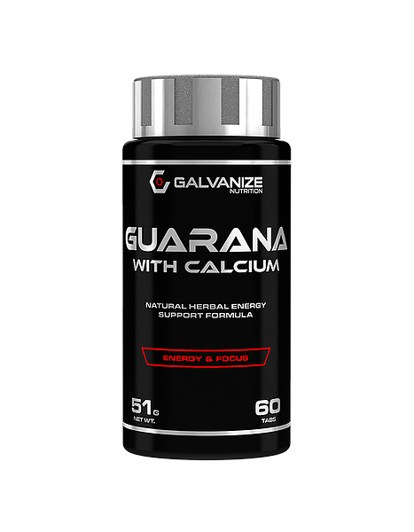 Galvanize Nutrition Guarana (60 Tabletten)