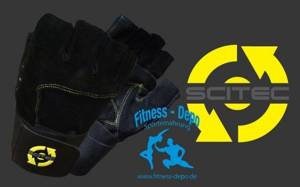 Trainingshandschuhe Yellow Style mit Handgelenkbandage + Proben
