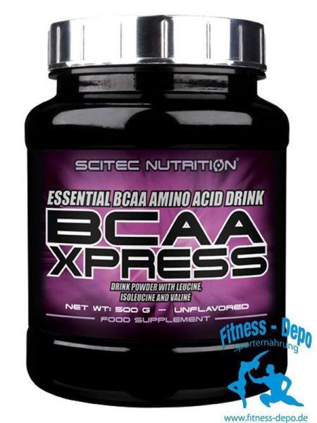 Scitec Nutrition BCAA XPRESS Geschmacksneutral: 500 g